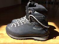 Scarpa Manta Mountaineering boots!