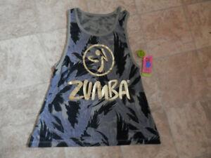 Bag of 9 ZUMBA brand tops