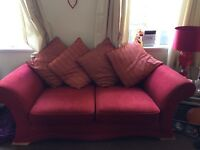 Large 2 seated sofas