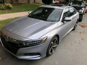 Honda 2018 Accord sport lease takeover