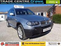2006 06 BMW X3 2.0 D SPORT 5D DIESEL 4X4 MANUAL - CAR FINANCE FROM £25 PER WEEK