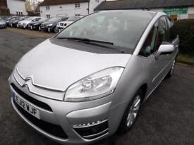 Citroen C4 Picasso 1.6HDi (110bhp) VTR+ 2012, Very Good Cond, FSH, 6m WARRANTY