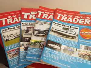 AUTO-TRADER  Boat , Bike, And RV Traders Magazines