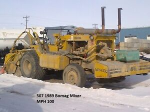 Bomag pulverizer and Mixer MPH100