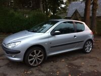 2004 04 Peugeot 206 Fever 1.4 DIESEL 55+MPG Only £30 a year tax Low Insurance
