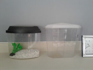 Betta fish  tanks wonderful new condition see images
