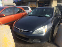 2007 HONDA ACCORD Berline**,AUTOMATIQUE, TOIT,4 CYLINDRTES*