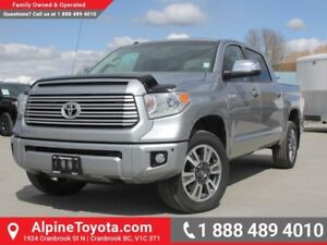 2017 Toyota Tundra Platinum  Low Kms - Box Liner - Sunroof - Hea