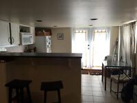 1 BR in Spacious Basement Suite UBC 10th and Courtenay 1100sq ft