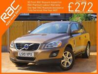 2010 Volvo XC60 2.4D S Turbo Diesel Geartronic 6 Speed Auto City Safety Full Lea