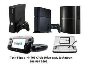 Console PS3, PS4, WII & XBOX+ Professional Guaranteed services +