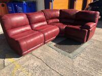 Harveys governor corner reclining sofa ex display model