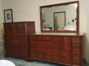 4 pc. Antique Cherry  Bedroom set by ' KLING'