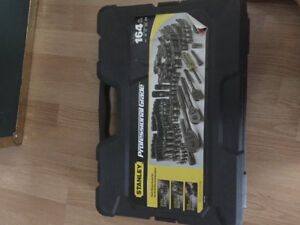 TOOLS; STANLEY professional grade 164pcs (Never opened)! *$250*