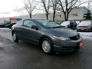 2009 HONDA CIVIC DX-G COUPE | CERTIFIED | WARRANTY