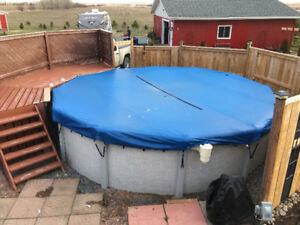 18ft Above ground pool( 18x54)