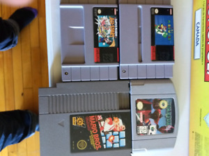 Lots Jeux Divers - N64 - NES - SNES