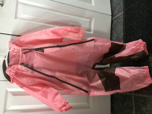Girl's Tuffo Rain Suit - size 5t only wore once