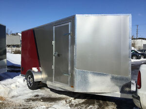 2017 Canadian Trailer Company 7x12 V-Nose Pewter and Red Cambridge Kitchener Area image 6