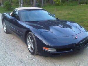 2001 Corvette convertible$18,900