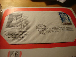 US FIRST DAY COVERS 1972 TO 1975 stamps & album