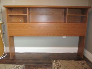 Queen Size Bookcase Headboard