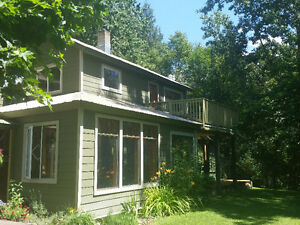 Large family home on acreage near Slocan River on Winlaw Back Rd