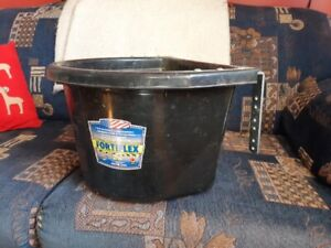 Livestock wall-mounted bucket feeder for sale