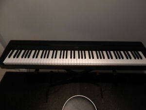 YAMAHA P45 digital piano with 88 keys