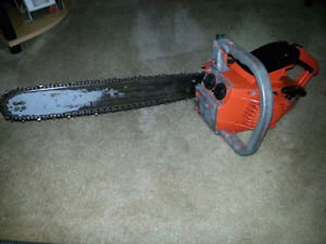 Old chainsaw