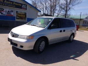 2002 honda odyssey only 149k cert etested good body