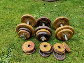 Dumbbell and Iron Weights 64KG