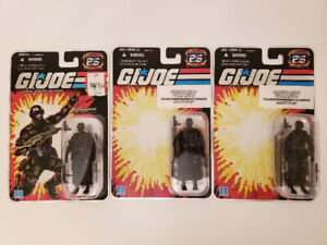 G.I. Joe Snake Eyes 25th Anniversary Figures