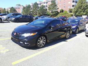 Clean Car, 2015 Honda Civic Si, Coupe 2 door, HPF Package