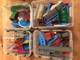 Thomas the Tank Engine Tomy trains and train tracks all in working order