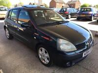 2004 Renault Clio 1.2 16v Dynamique - MOT: 5 July 17 - 2 Keys - 3 F Keepers