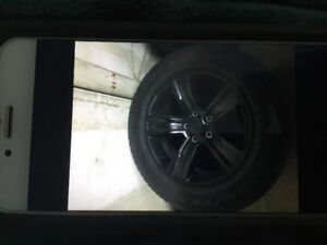 """20"""" dodge truck wheel and tires"""