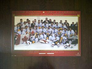 Canada Mens Hockey Olympic Gold