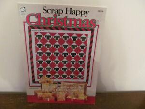 """Quilting """"Scrap Happy Christmas"""" Book No 37"""