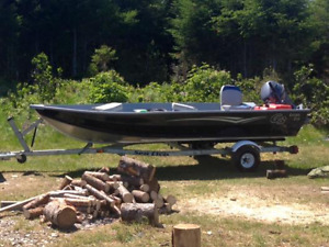 14ft Boat, Motor & Trailer