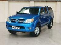 2006 TOYOTA HILUX INVINCIBLE 2.5 - MANUAL - BLUE - NO VAT - P/X WELCOME