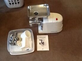 Brand new Andrew James meat mincer and sausage maker