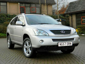 2007 57 LEXUS RX 400H 3.3 SE-L 5dr WITH REAR ENTERTAINMENT+SUNROOF+CAMERA