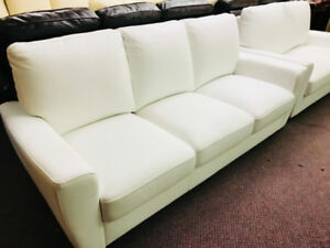FACTORY DIRECT REAL LEATHER  SOFA SETS  !!!