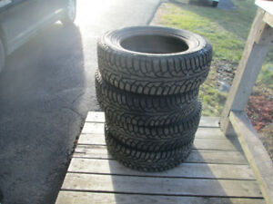 Set of Four Snow Tires for Sale