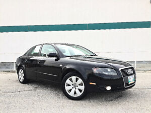2007 Audi A4, LOADED! FRESH SAFTEY! CLEAN TITLE! 6 speed manual