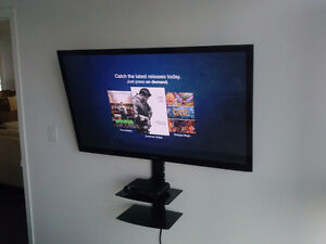 Installation of LED LCD TV bracket is $ 49.99 tv wall mount ing Stratford Kitchener Area image 1