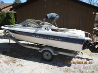 NEW PRICE Bayliner 195 Classic Runabout  with trailer