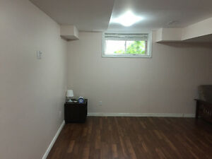 Spacious Basement with Private Full Washroom for rent