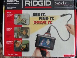 Ridgid See Snake camera with extension